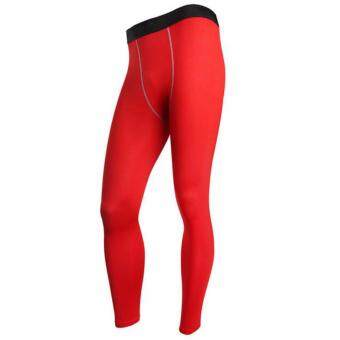 Men Pants Running Gym Fitness Sports Running Leggings Tights Quick-drying Fit Training Jogging Pants