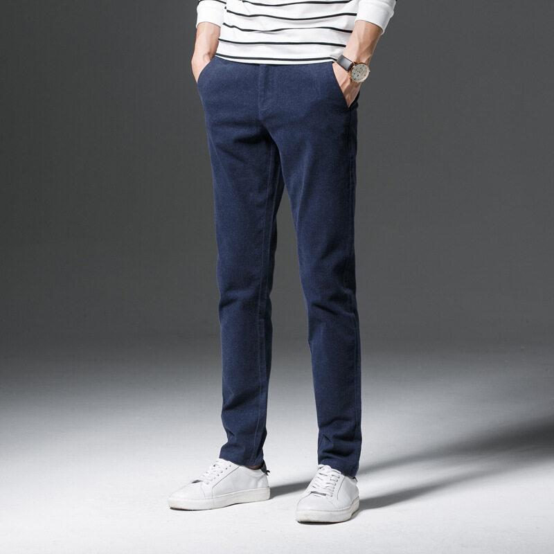 Pria Setelan Celana Kantor Kerja Formal Celana Pria Anti Keriput Bisnis Celana Formal Pria Chino 0203-Internasional