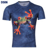 ซื้อ Men S 3D European Fashion Cool T Shirt Color Main Pic ใน จีน