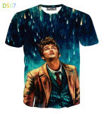 ซื้อ Men S 3D European Fashion Cool T Shirt Color Main Pic ออนไลน์ จีน