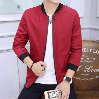 Harga Men's Baseball Wear Men's Casual Bomber Jackets