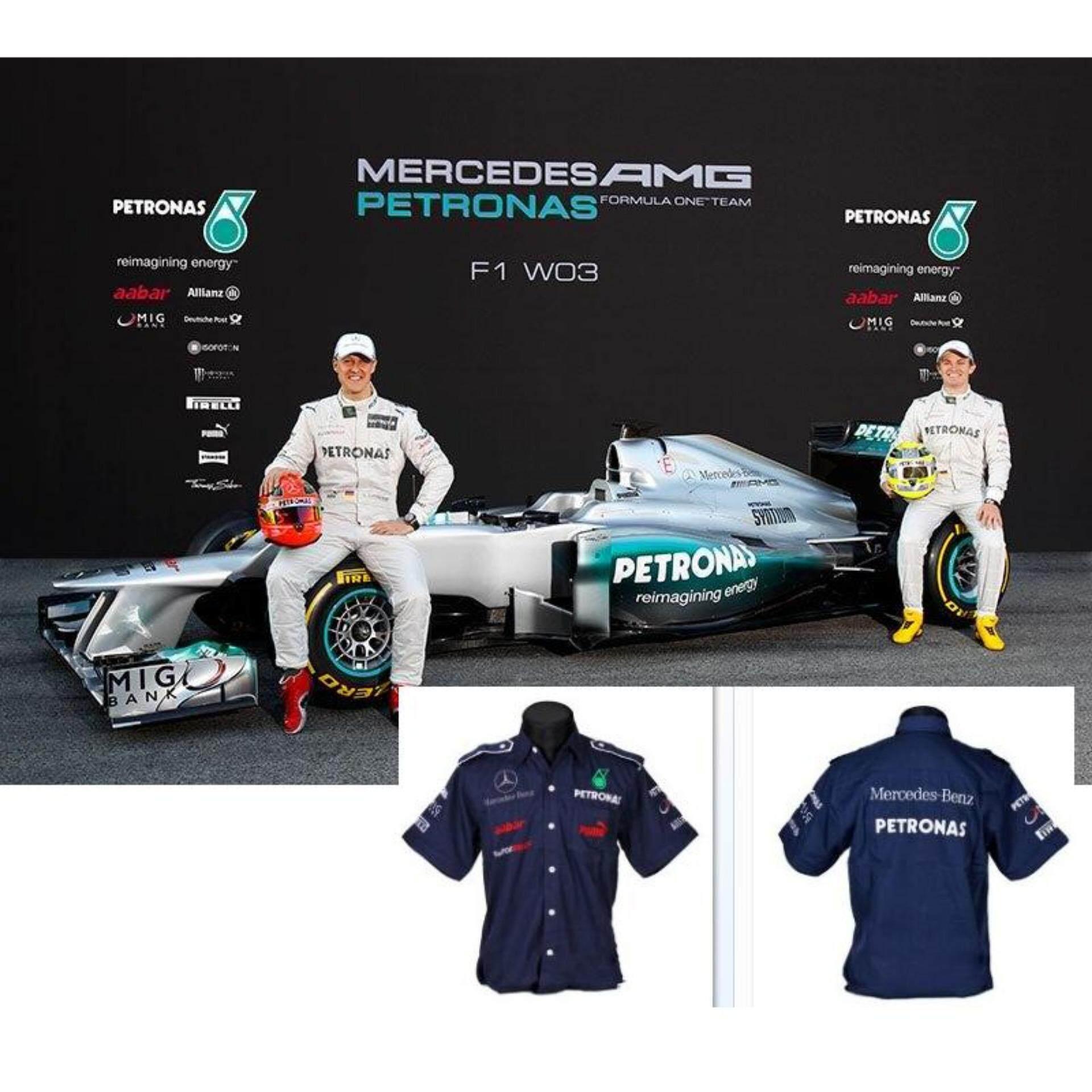 świetne ceny tanie z rabatem autentyczna jakość Mercedes Benz Petronas Winner Racing Team F1 Shirt Blue By PUMA