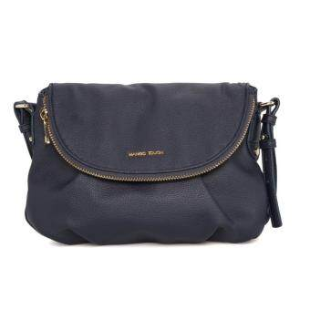 Harga MNG Double Compartment Cross Body Bag (Blue)