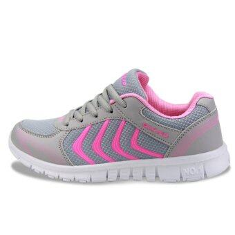 Moonar Fashion Women Casual Sports Mesh Sneakers Lace-up Track Shoes Size 36-41