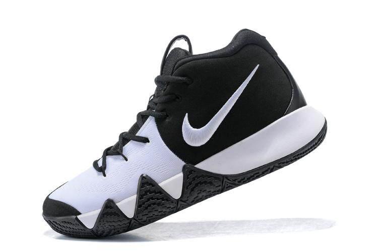 NBA Sepatu 2014 NBA Semua-Bintang MVP Kyrie 4 Modis Resmi Sneakers Putih Asli Sepatu Olahraga-Internasional