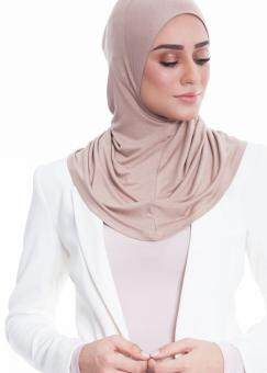 Neng Geulis Inner Neck Hijab and Shawl Nude