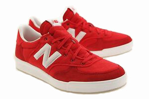 Harga New Balance CRT300ID Men Lifestyle Shoes (Red & White)
