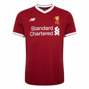 Harga New Balance Liverpool 2017-2018 Home Jersey