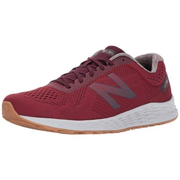 New Balance Mens Arishi V1 Running-Shoes, Dark Red, 10.5 D US -