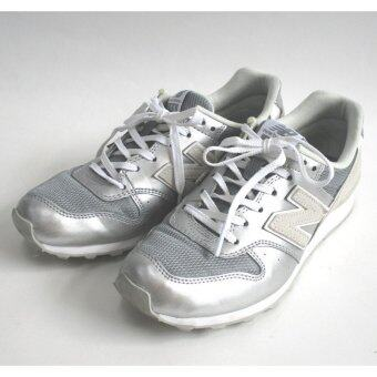 Harga New Balance WR996HN Women Lifestyle Shoes (Silver & White)