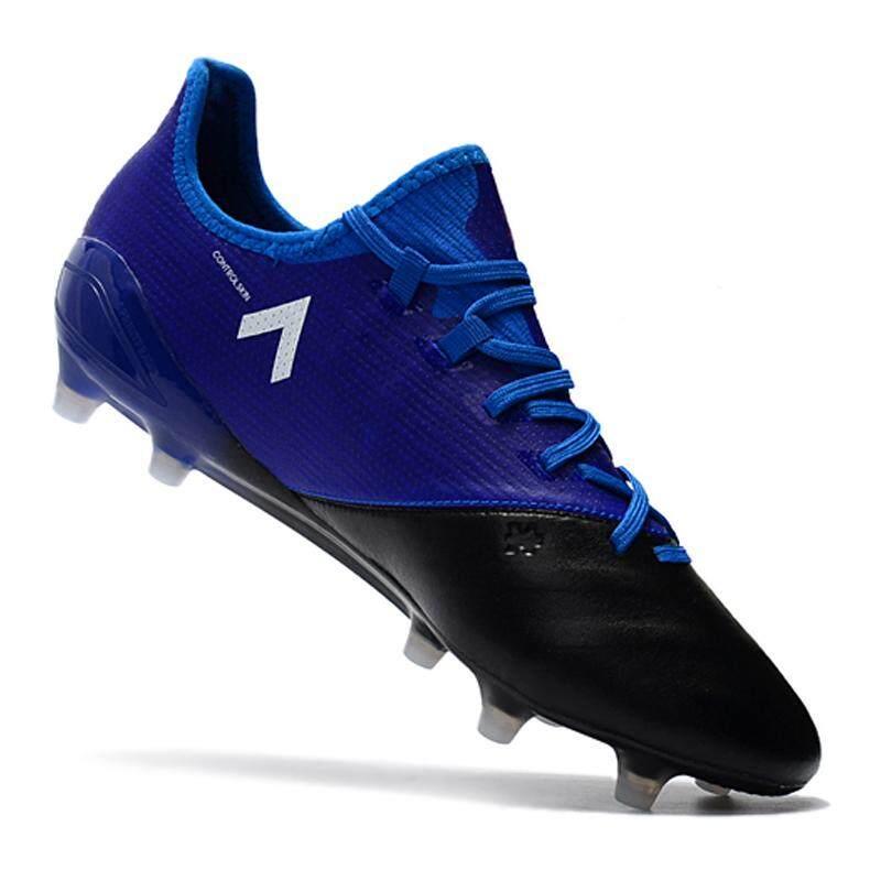 e7945f6ceaf Baru FG Nail Sepatu Sepak Bola Pria Kangaroo ACE 17.1 Leather FG Sepatu  Sepak Bola Menenun