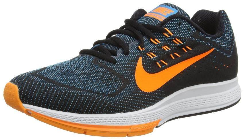 Nike Air Zoom Structure 18 Running Shoe - Mens Blue Lagoon/Black/Bright Crimson, 9.0 - intl