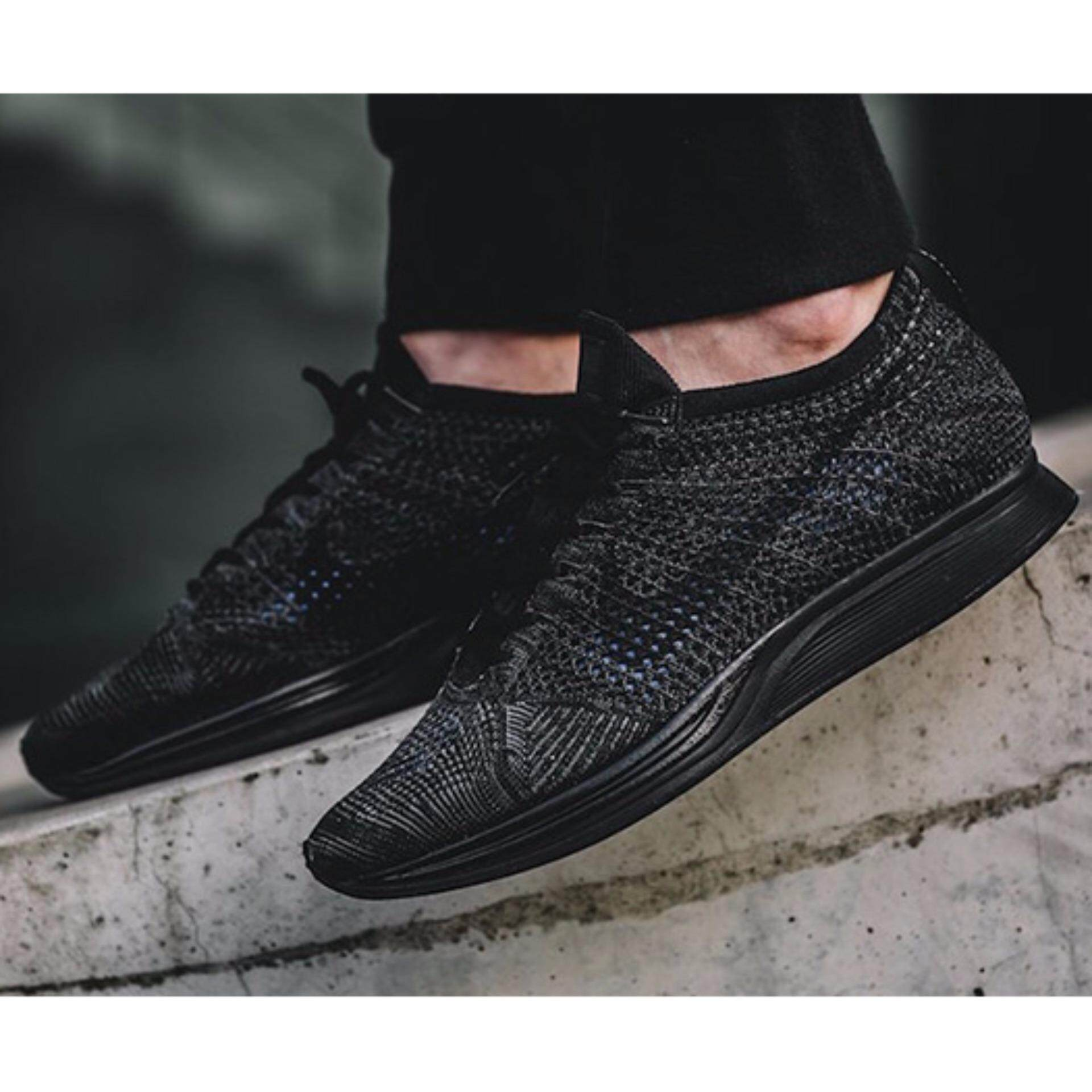best value c3859 7811d ... top quality share image nike flyknit racer triple black lazada malaysia  09a08 985d1