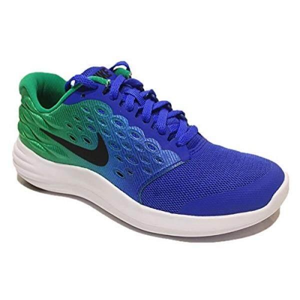 Nike Anak-anak LUNARSTELOS GS, Paramount Biru/Hitam, Remaja-Internasional