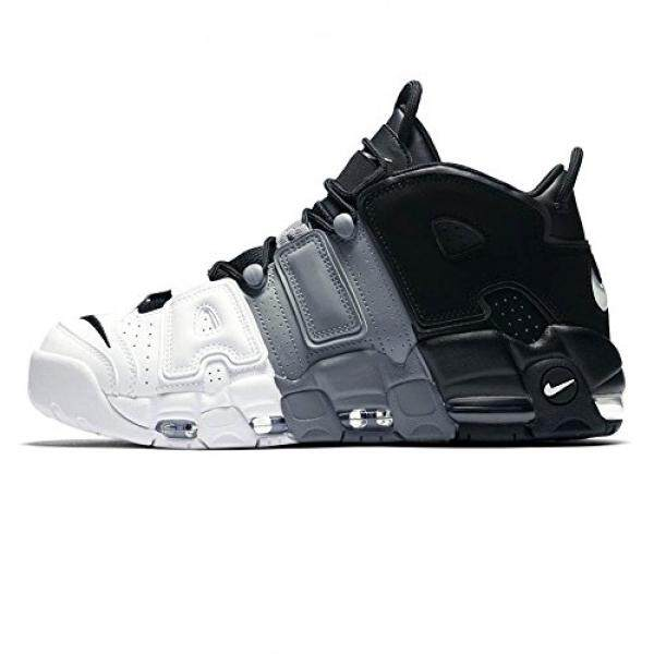 Nike Mens Air More Uptempo 96, BLACK/BLACK-COOL GREY-WHITE, US - intl