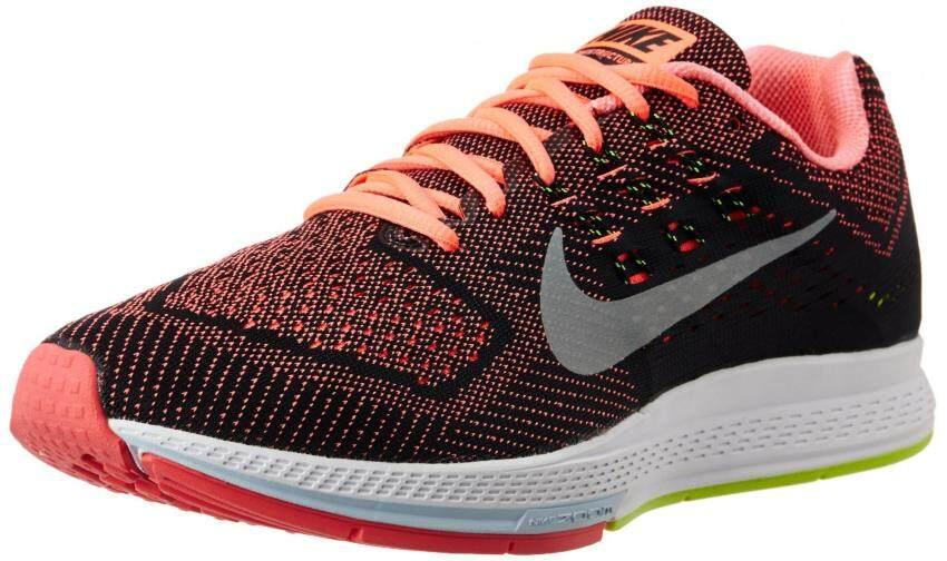 Nike Mens Air Zoom Structure 18, HOT LAVA/METALLIC SILVER-VOLT-BLACK, 10.5 M US - intl