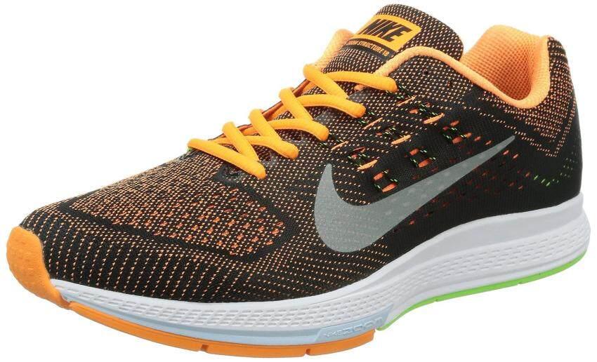 Nike Men's Air Zoom Structure 18 Running Shoe (8, Orange) - intl