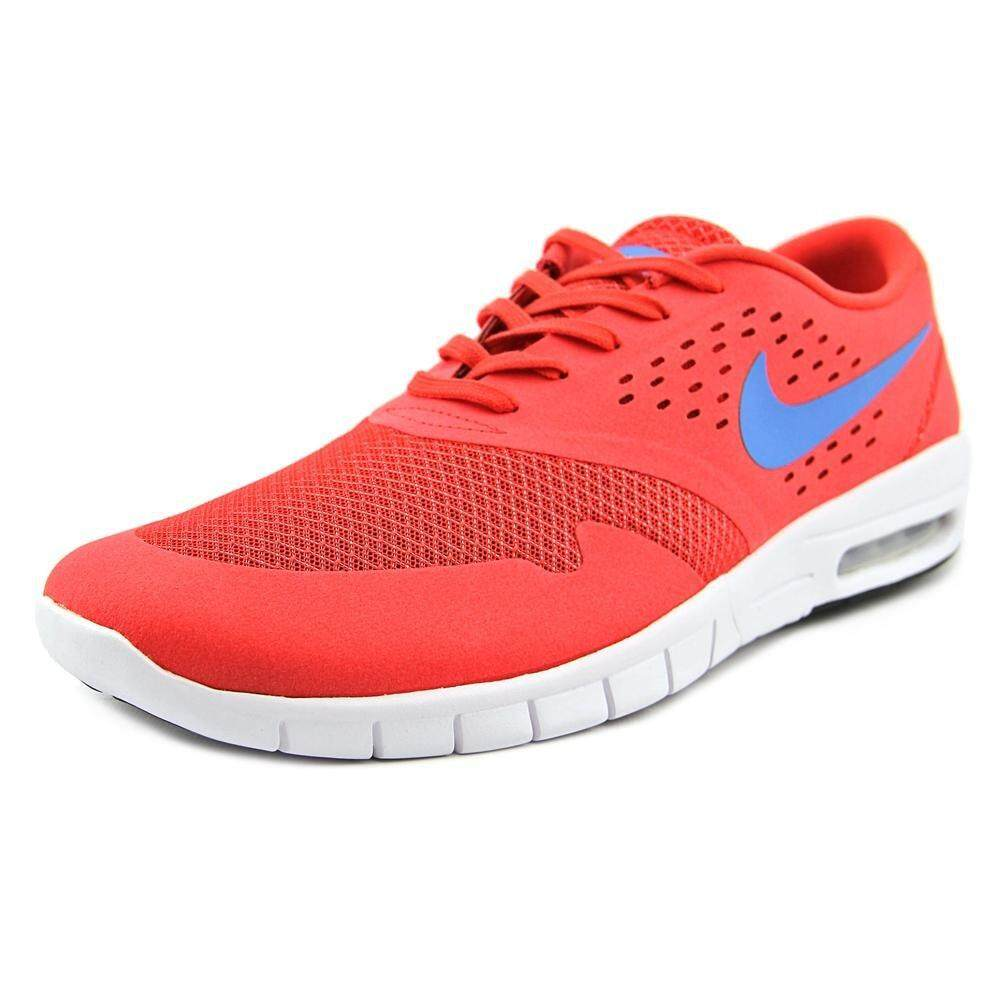 Nike Pria Eric Koston 2 Maksimum LT Crimson/Foto Biru Lari Shoe 13 Pria Amerika Serikat-Internasional