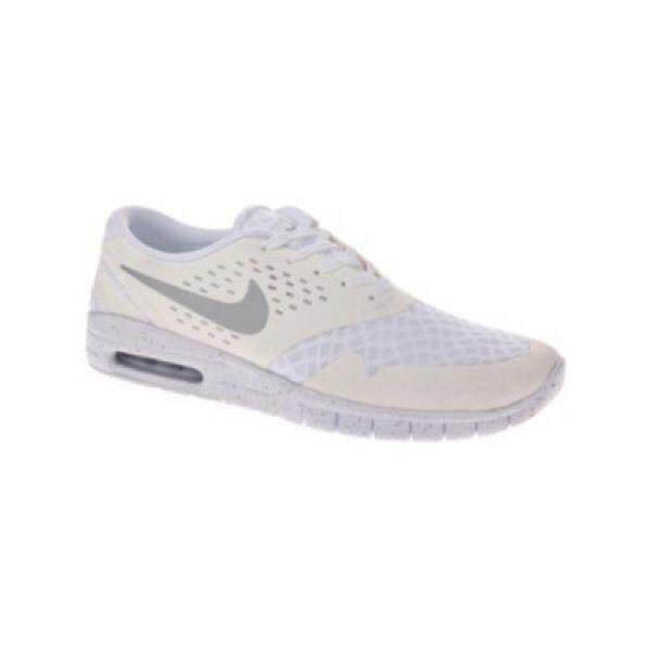 Nike Pria Eric Koston AX Putih/Metalik Perak/Hitam Lari Sepatu En Kami-Internasional