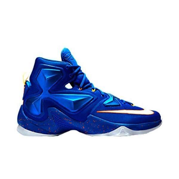 Nike Mens Lebron XIII Blue Basketball Shoe - 12.5 D US - intl
