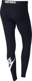 Nike Women's Leg-A-See Logo (Black) - 2