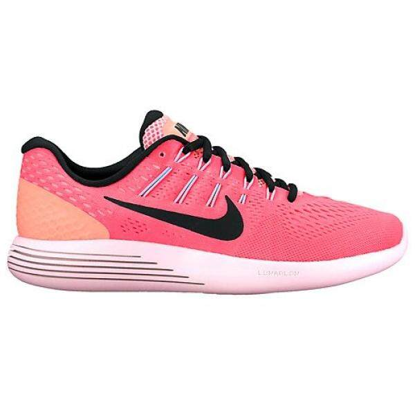 Nike Womens Lunarglide 8 Hot Punch/Black/Lava Glow Running Shoe 9.5 Women US - intl