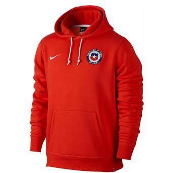 Harga Nike Chile Pullover Hoodie Football Copa America2016 - Red