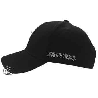 f5a5bbf684d OH New Streetnovelty Unisex Cotton Ring Hoop Pin Curved Hat Hip HopBaseball  Cap black with 3