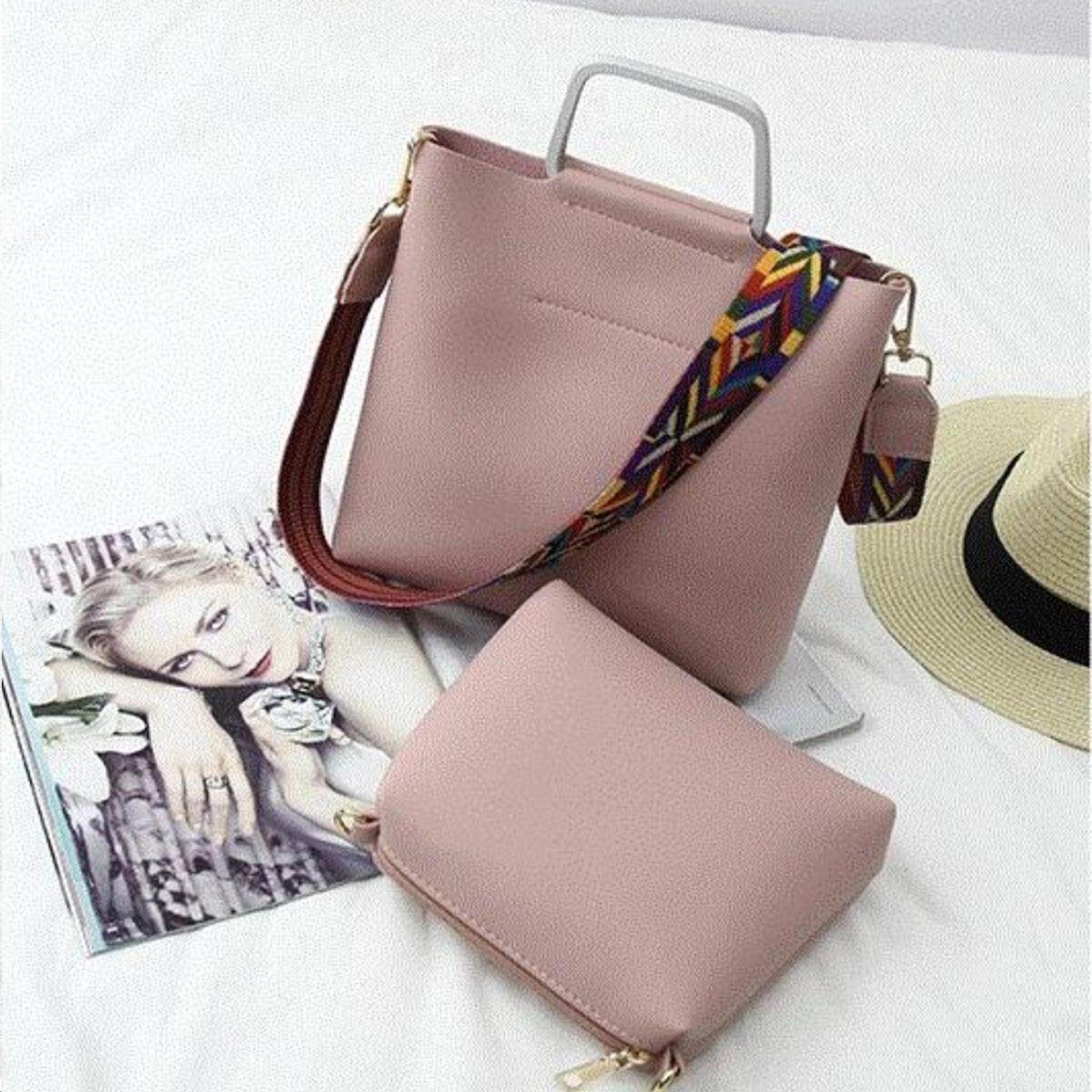 c758e181326e OOTD28 Funky Colourful Strap PU 2 in 1 Purses Sling Bags Shoulder ...