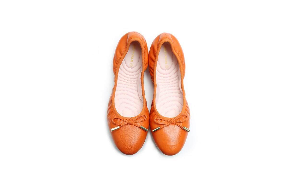 Orange Comfortable Dancing Shoe