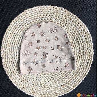 Kapas Organik Tanpa Tulang Musim Semi dan Musim Panas Baru Lahir Tutup Melarang Bayi Topi Bayi Bulan AC Tutup Tahan Angin Topi (Enam bulan + Cocok Semua Ukuran + Warna Kopi Dalam Katun Kebun Binatang) -Internasional