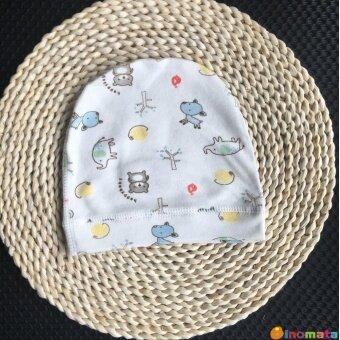Kapas Organik Tanpa Tulang Musim Semi dan Musim Panas Baru Lahir Tutup Melarang Bayi Topi Bayi Bulan AC Tutup Tahan Angin Topi (Enam bulan + Cocok Semua Ukuran + Kebun Binatang) -Internasional