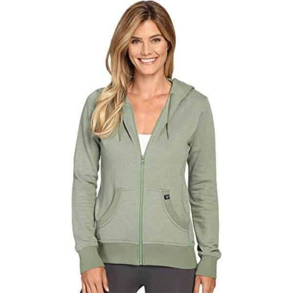 Pact Pact Wanita Organic Katun Hoodie Ringan SAGE Sweatshirt-Internasional