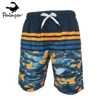 PALAGER Summer Men 's Quick - Drying Beach Board Shorts MarineLeisure Pants Swimsuit