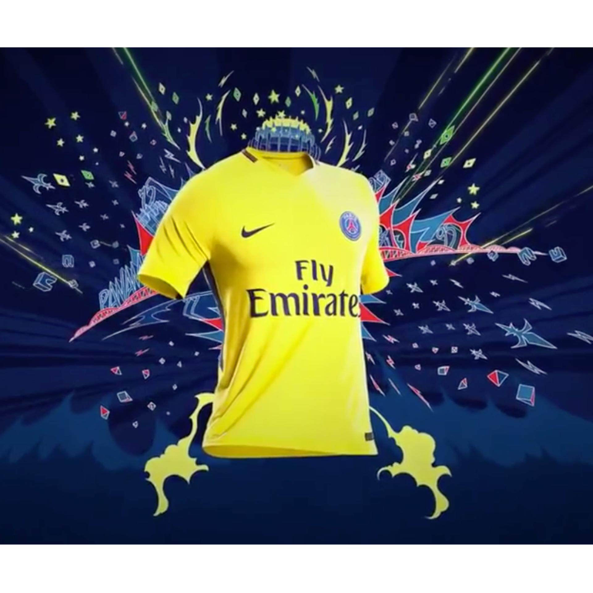 Toko Jual Paris St Germain S Away Football Jersey For The 2017 18 Season Intl