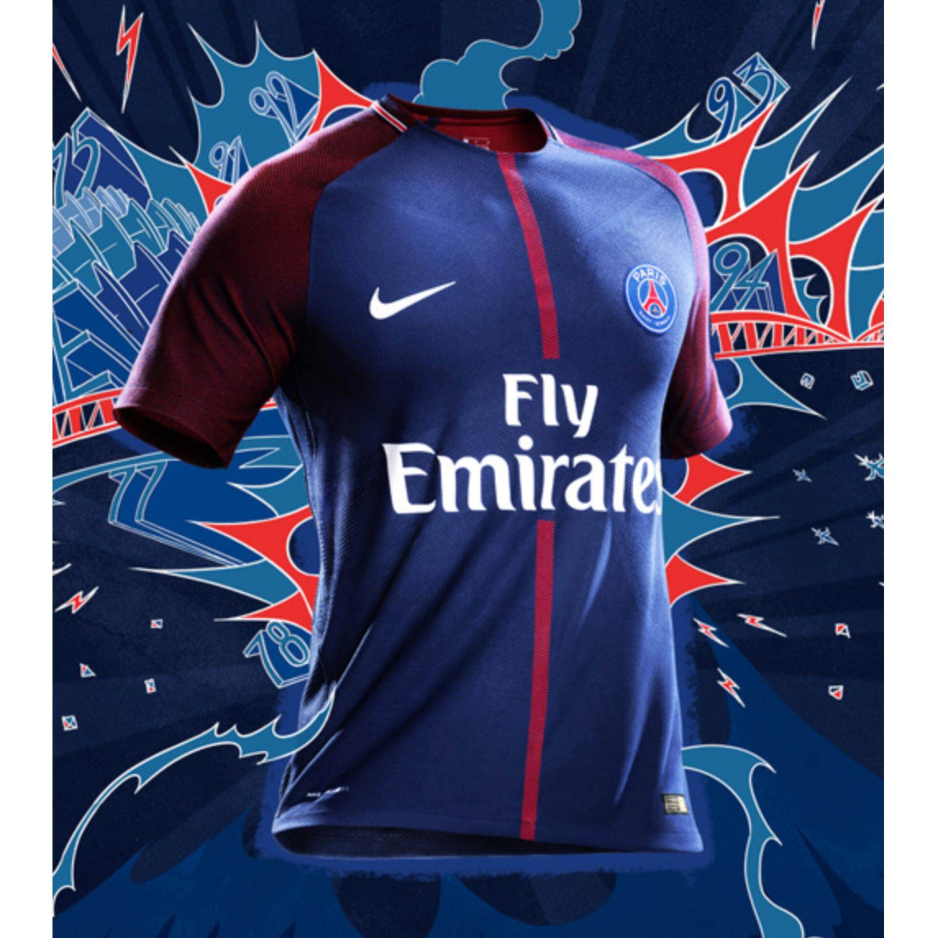 Promo Paris St Germain S Home Jersey For The 2017 18 Season Intl