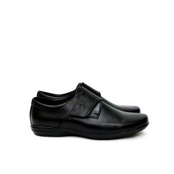 Polo Men Shoe PM-1247 (Black) - 5