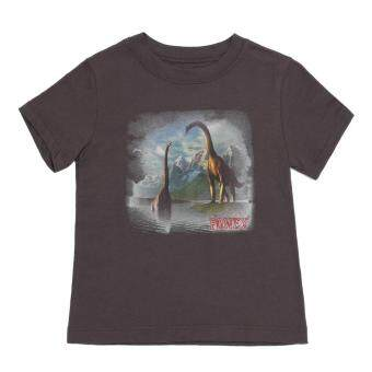 PONEY DINOSAUR DIGITAL PRINT TEE (BROWN)