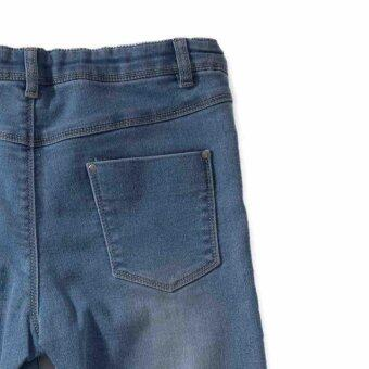 PONEY LOVE DENIM LONG PANTS (NAVY BLUE) - 5