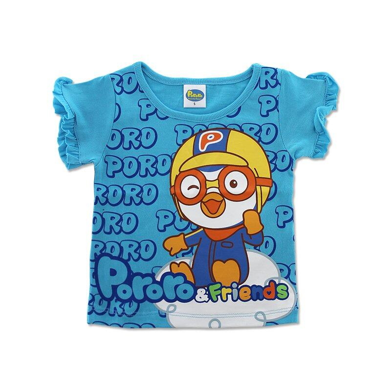 Pororo RT-2003 Girl T Blue