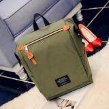 [PRE-ORDER] High-capacity Canvas Female Student PC Computer 15.6 Inch Backpack - Green