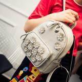 [PRE-ORDER] Women Flower Flory Casual Backpack Grey