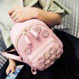 [PRE-ORDER] Women Flower Flory Casual Backpack Pink