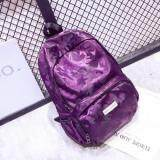 [PRE-ORDER] Women Flower Flory Casual Backpack Purple