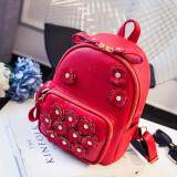 [PRE-ORDER] Women Flower Flory Casual Backpack Red