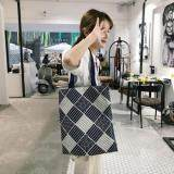 [PRE-ORDER] Women Japanese Culture Art Linen Canvas Shoulder Bag-Black