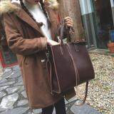 [READY STOCK] Women PU Leather Office Working Retro Shoulder Sling Bag