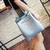 [PRE-ORDER] Women Retro Square Bucket Bag - Blue
