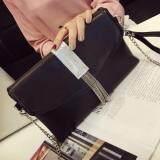 [PRE-ORDER] Women Shining Silver Tassel Dinner Handbag