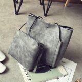 [PRE-ORDER] Women Simple Pocket 2 Shoulder Bag